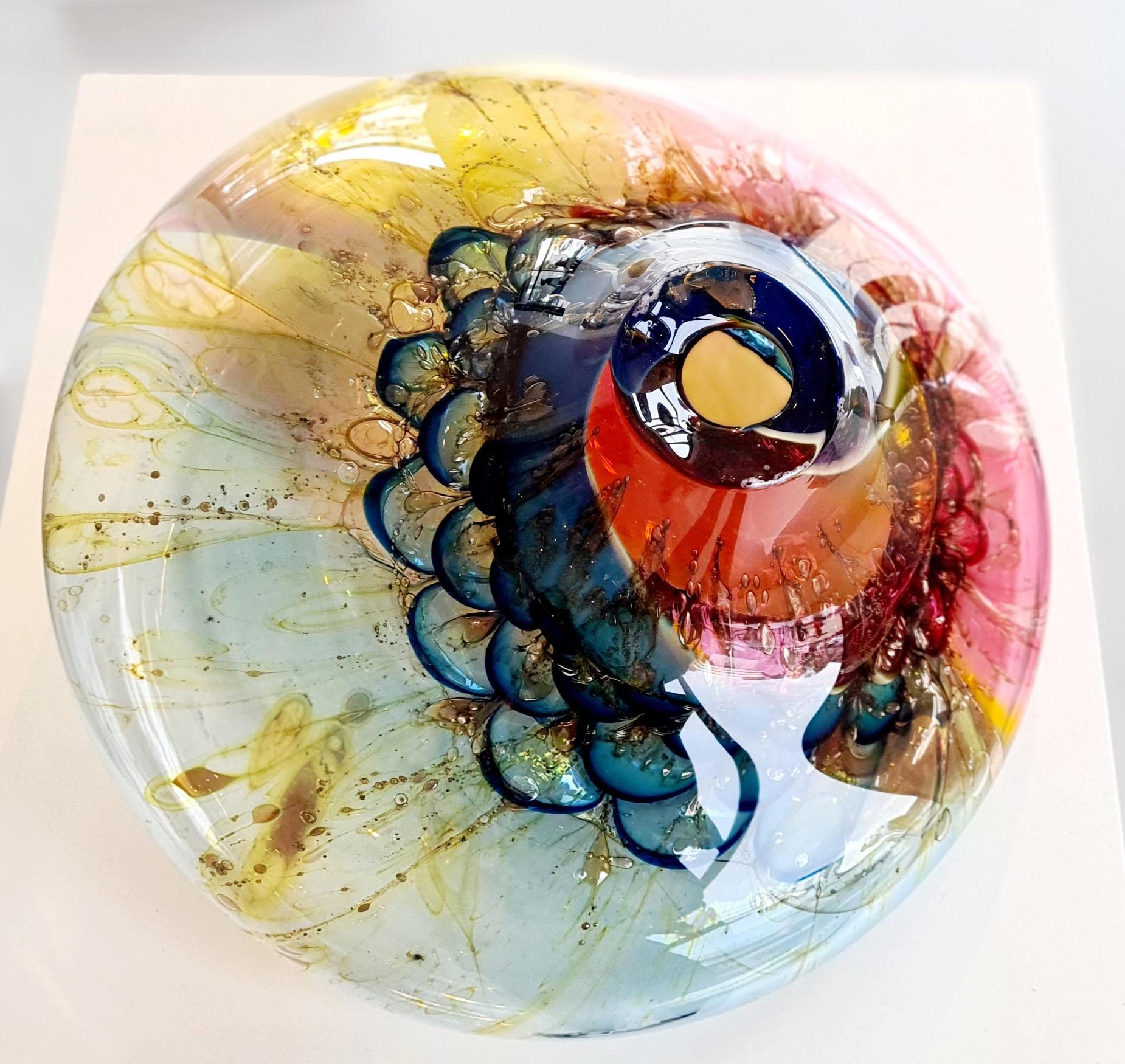 Kunst: Cnidarians 8 van kunstenaar Fons Uytdehaag