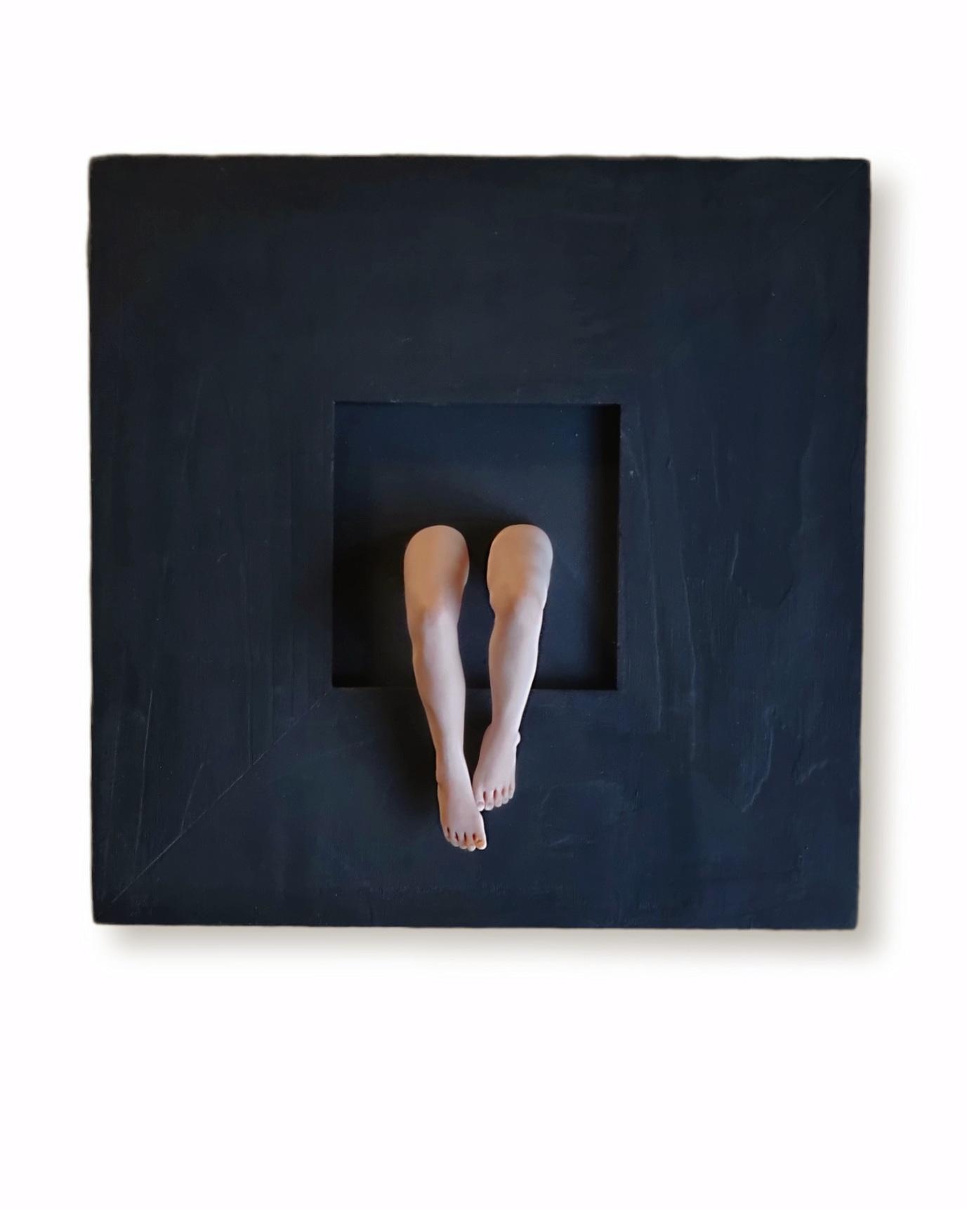 Kunst: De benen nemen van kunstenaar Saskia Hoeboer