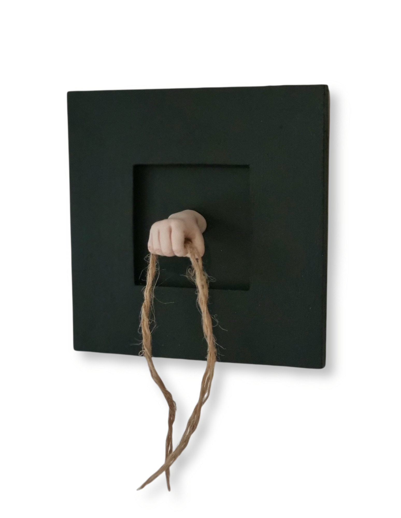 Kunst: de touwtjes in handen hebben van kunstenaar Saskia Hoeboer