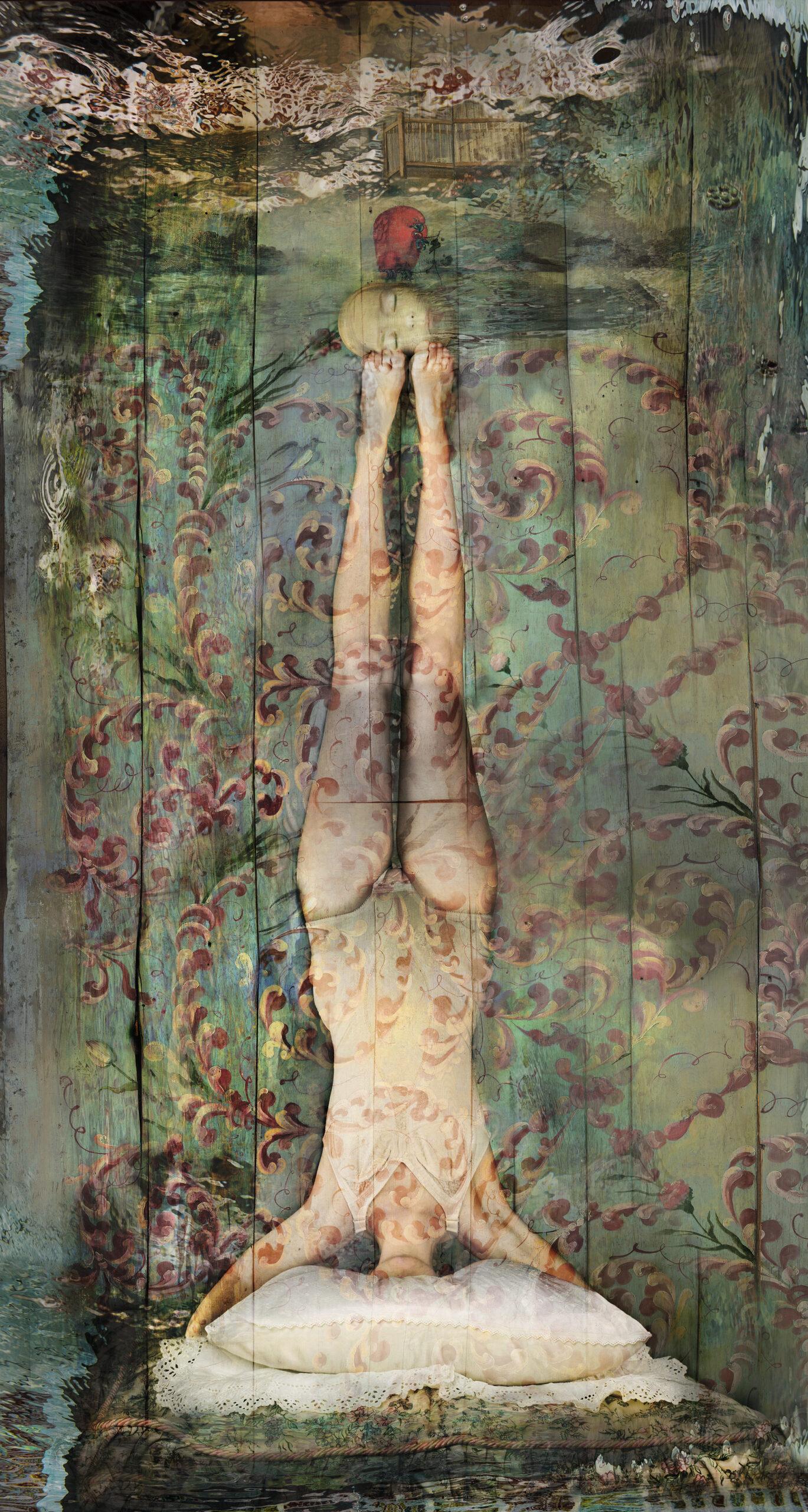 Kunst: Femme sans Tête van kunstenaar  dindi