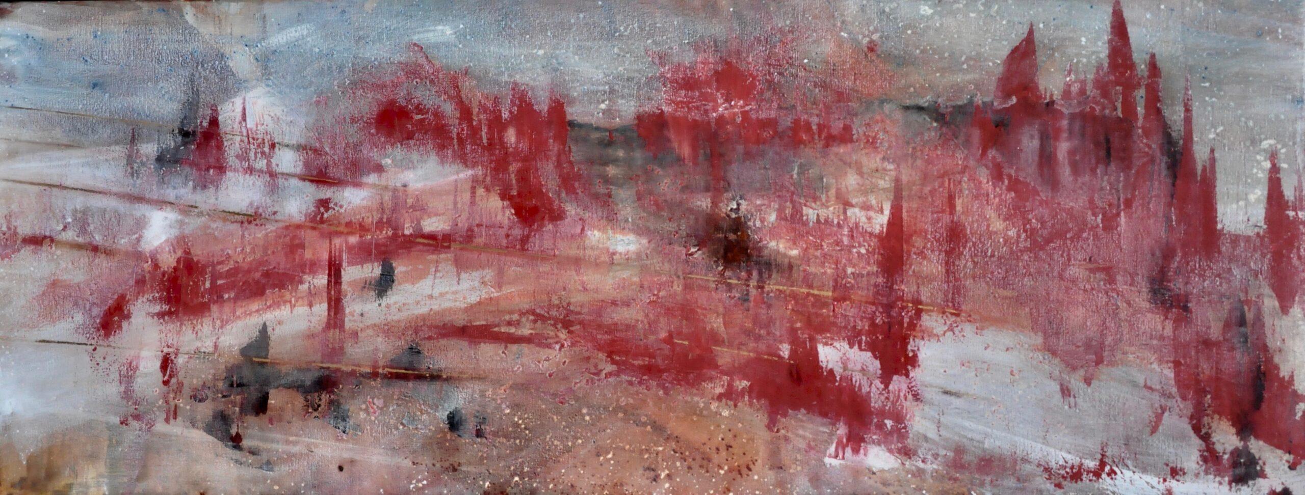 Kunst: Gouden wegen van kunstenaar Maria Verstappen