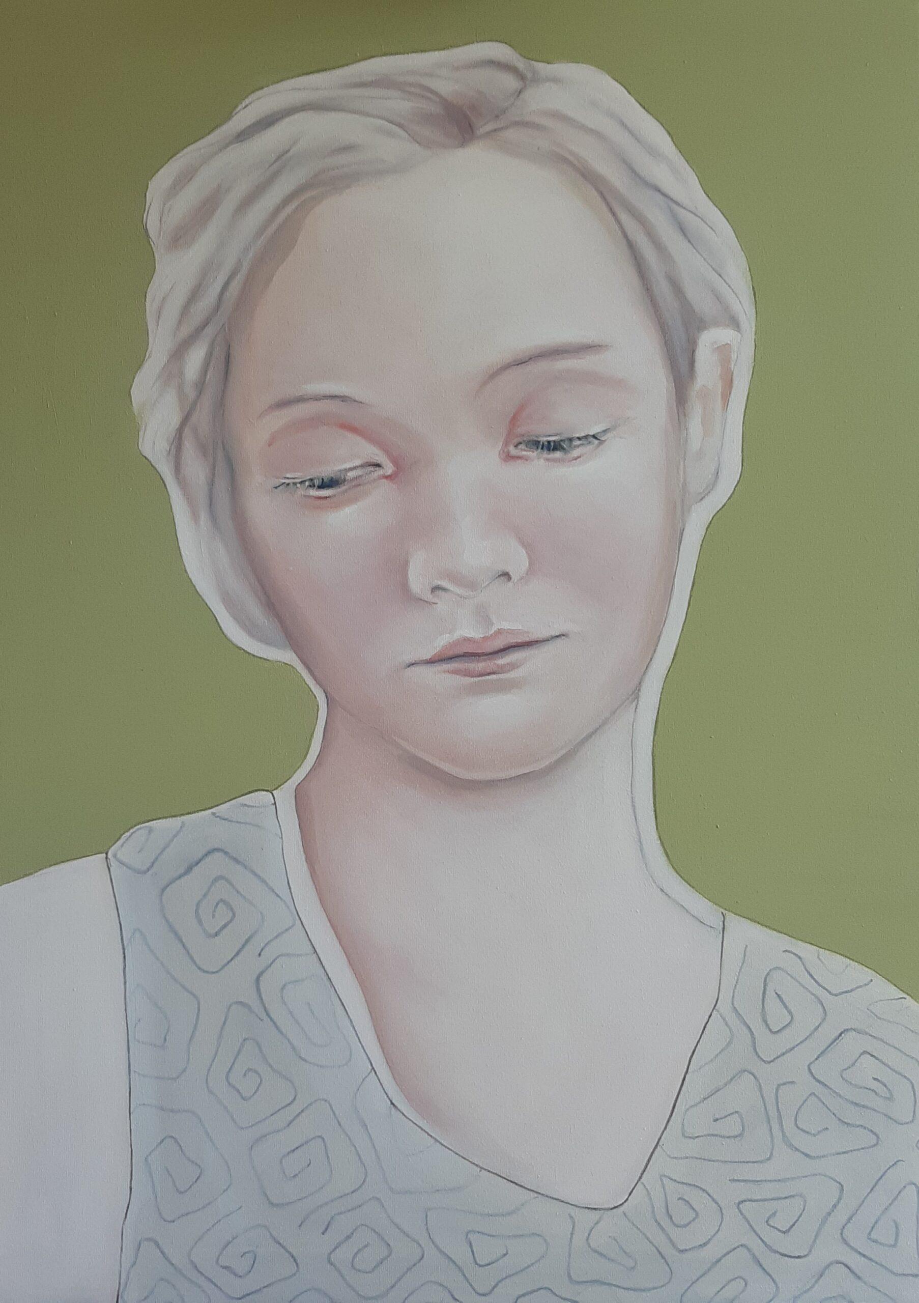 Kunst: My only thought van kunstenaar Jeanette van Dun