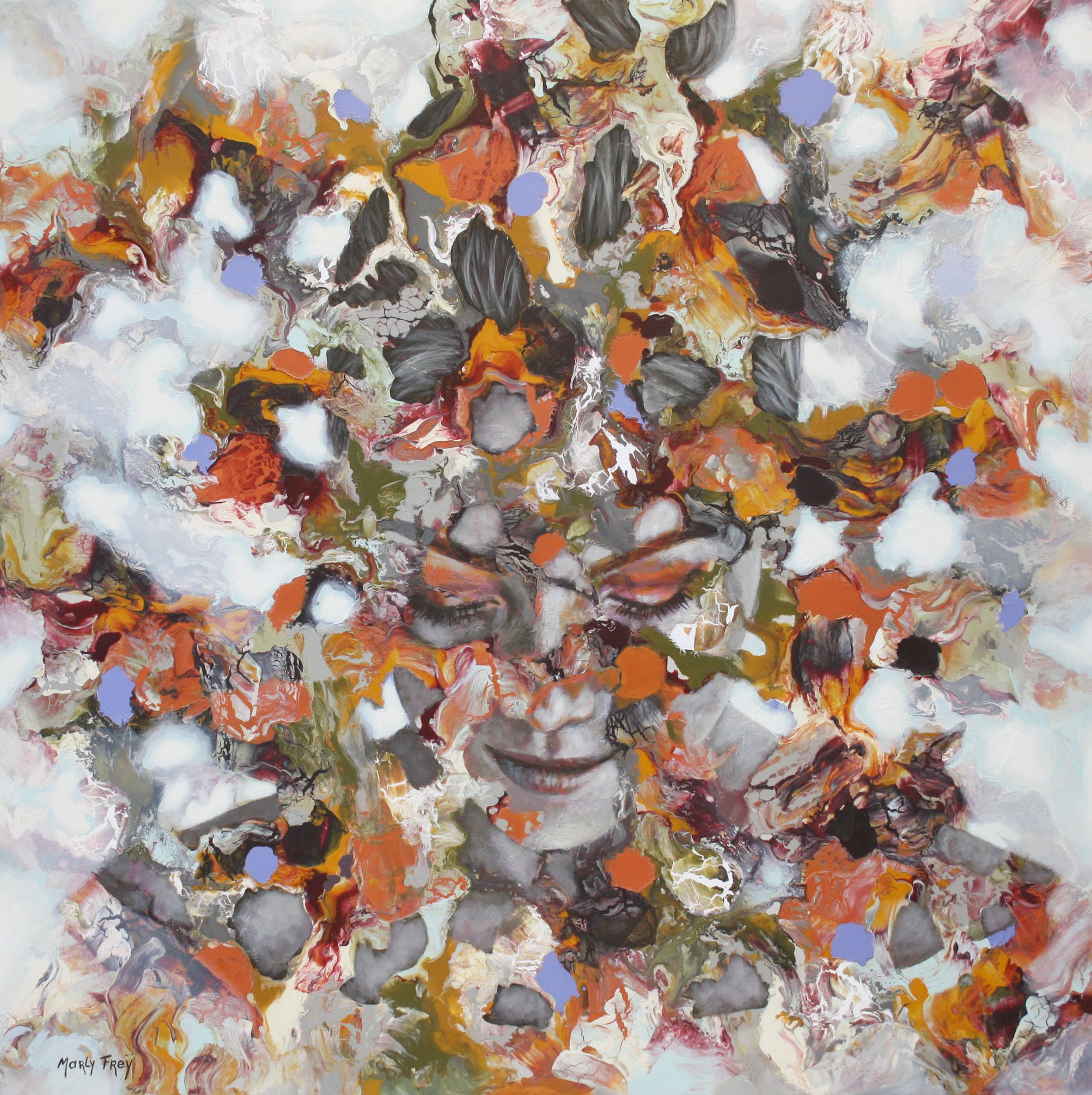 Kunst: November van kunstenaar Marly Freij(portretten)