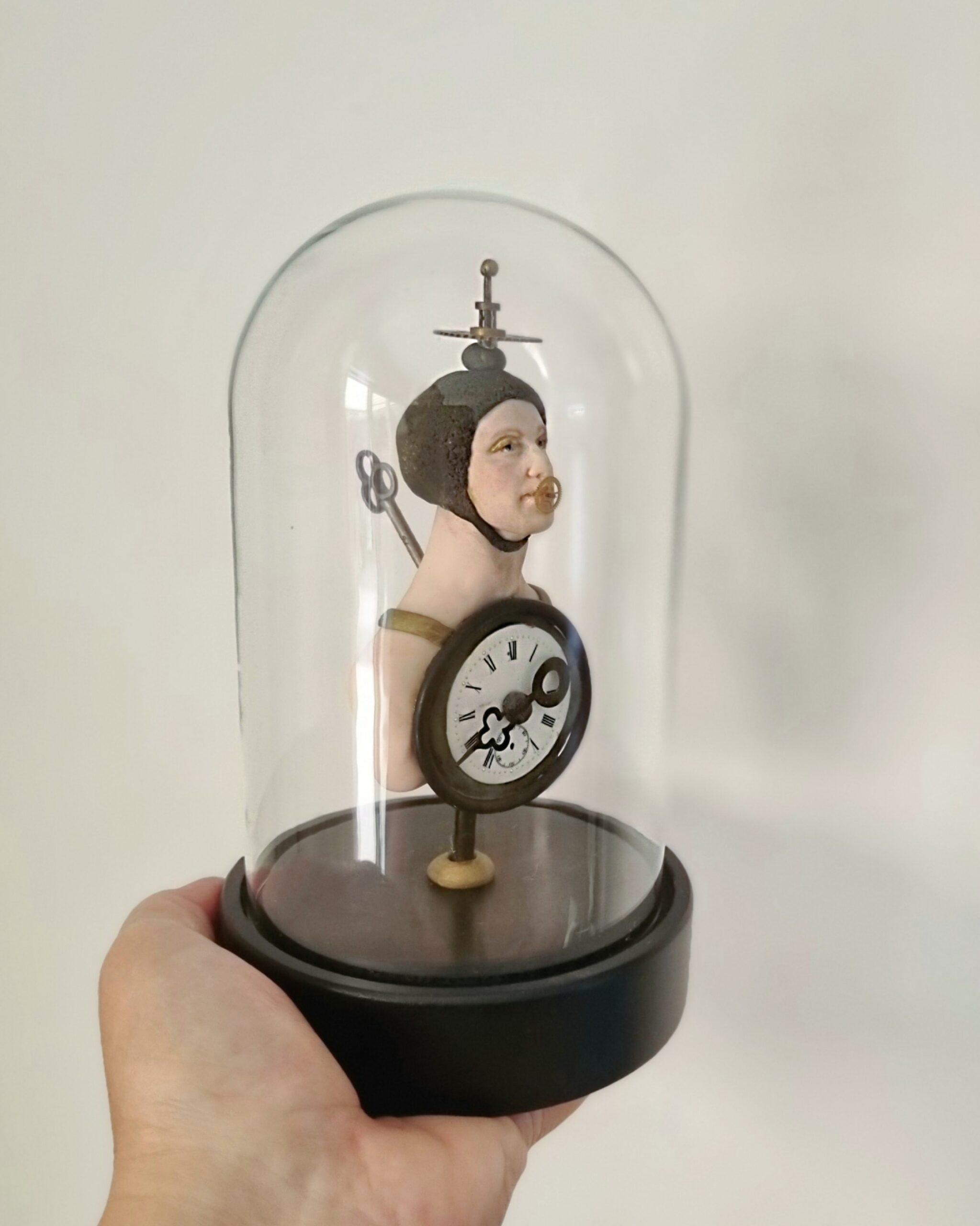 Kunst: Steampunk in stolp van kunstenaar Saskia Hoeboer