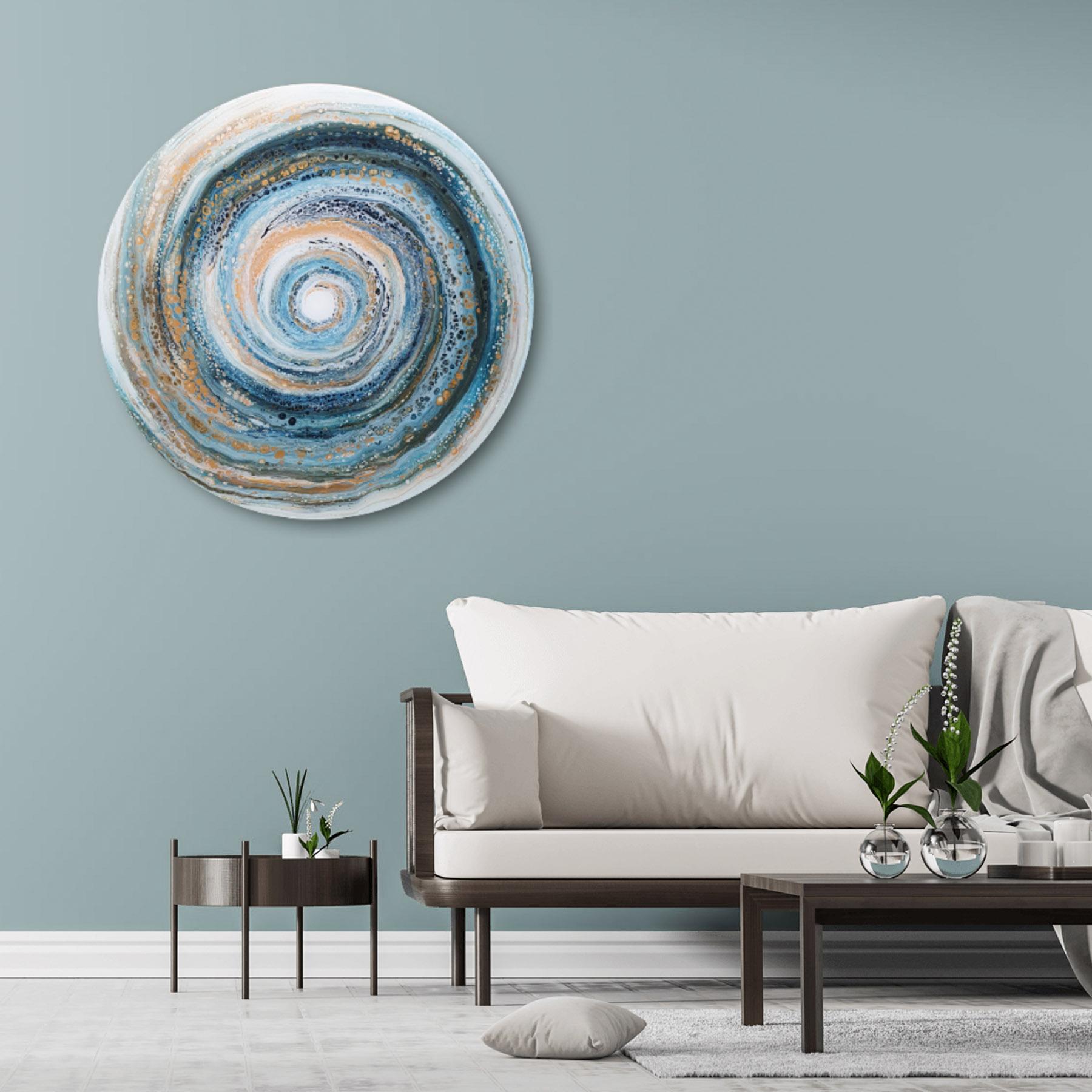 Kunst: Swirl van kunstenaar Marlies Geldof