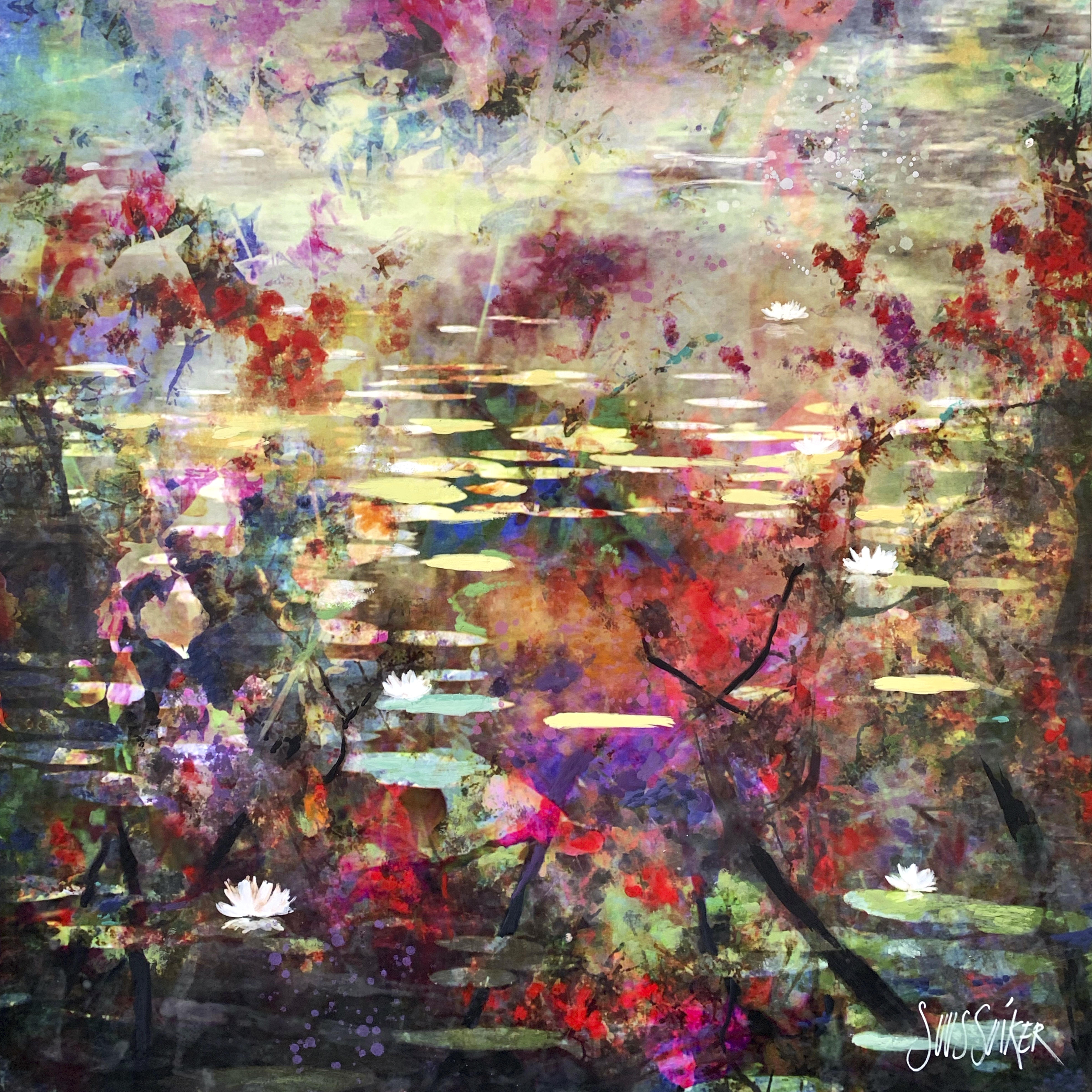 Kunst: Symbiose 120-30 van kunstenaar Suus Suiker