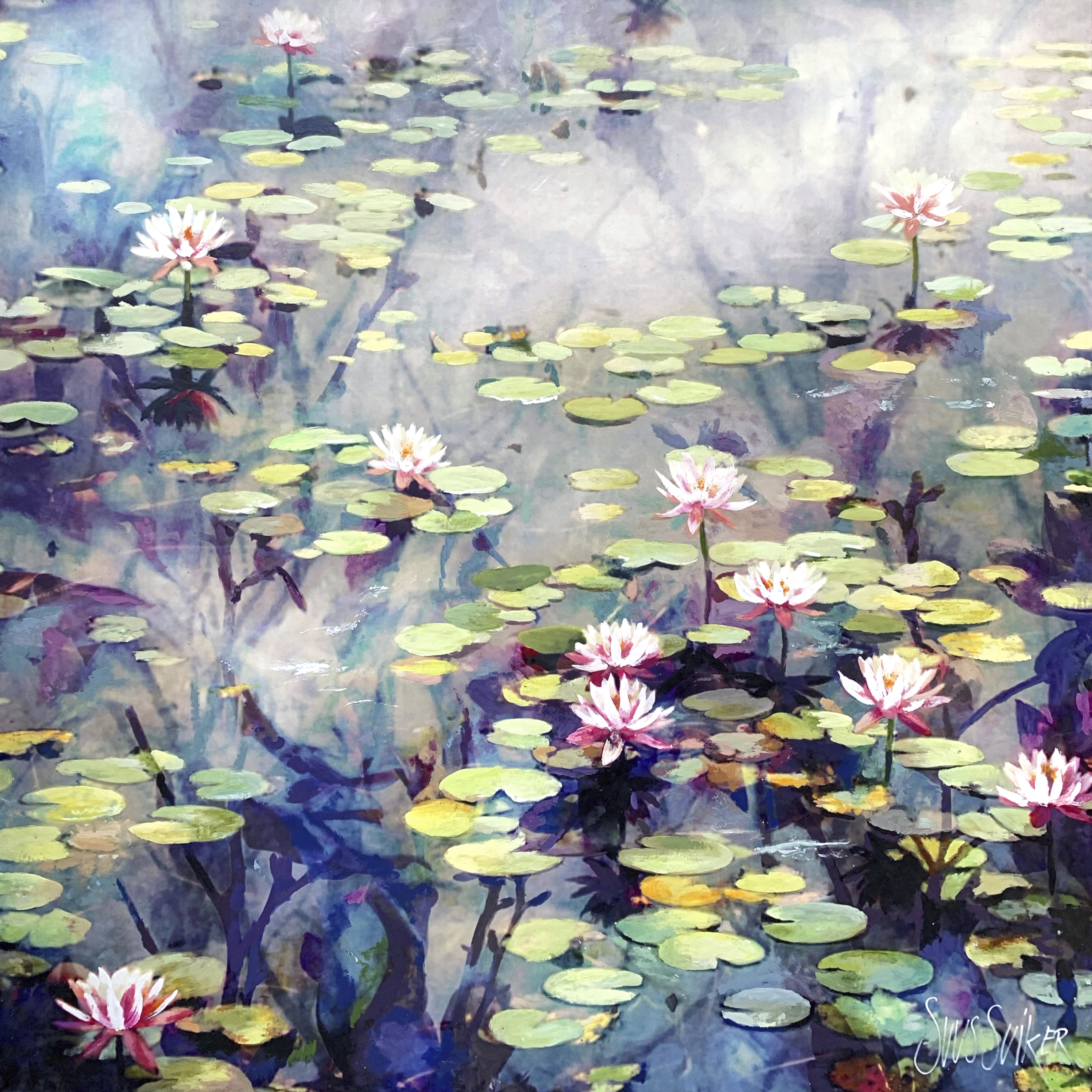 Kunst: Symbiose 140-16 van kunstenaar Suus Suiker