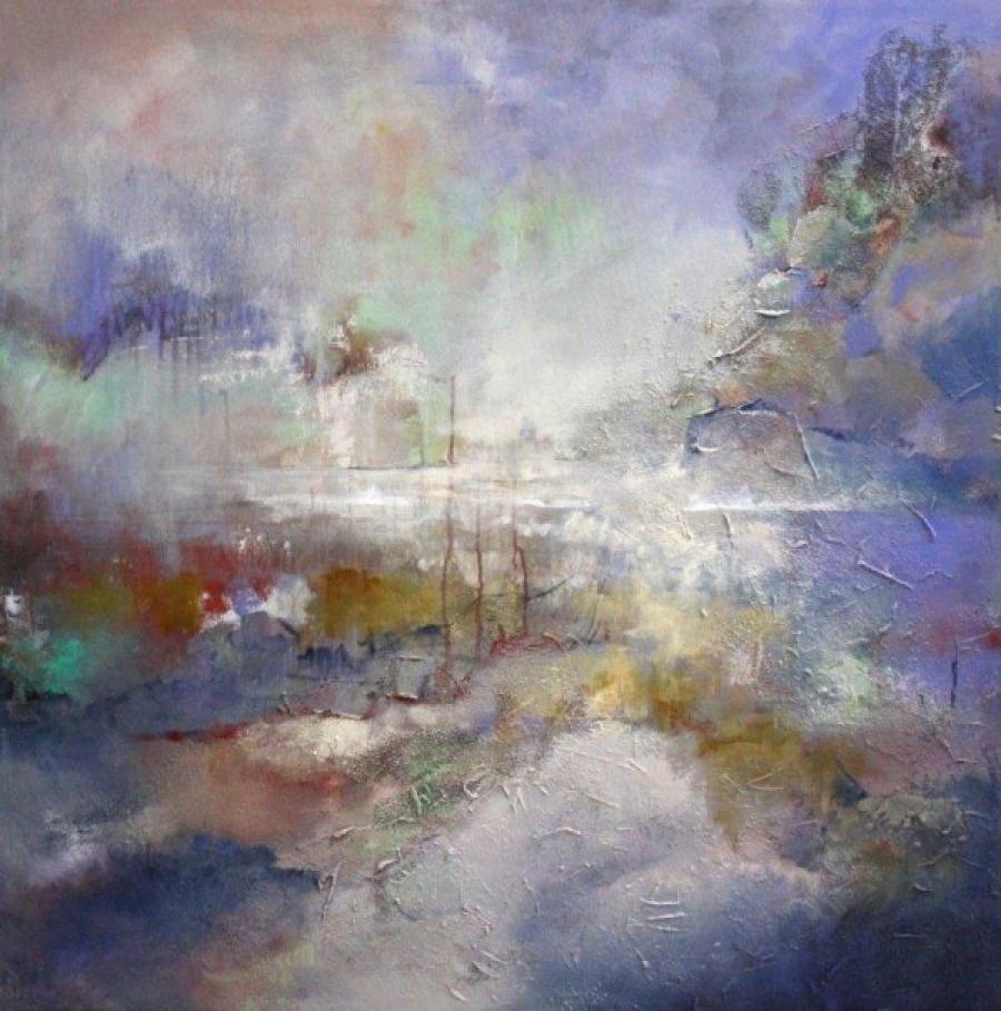 Kunst: 1102 van kunstenaar Marly Freij(vergezichten)