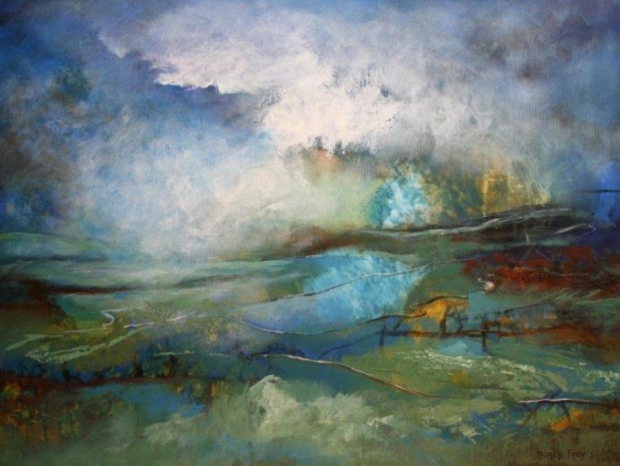 Kunst: 1117 van kunstenaar Marly Freij(vergezichten)