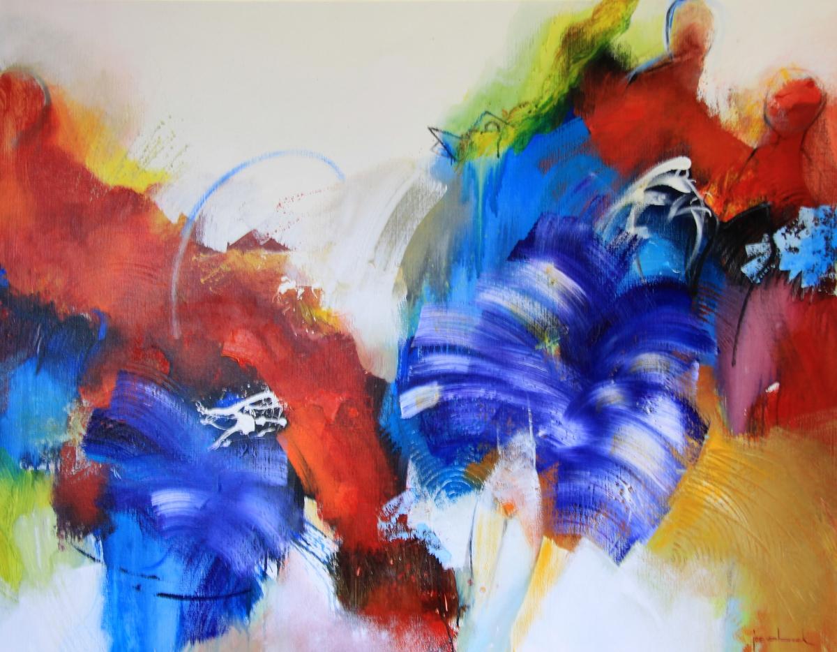 Kunst: 20-09 Vloeiende beweging van kunstenaar Jos van Beek