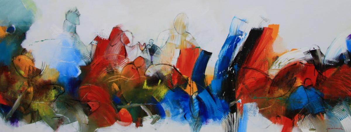 Kunst: 20-11 In de zomer lijkt de wereld groter van kunstenaar Jos van Beek