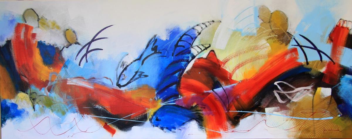 Kunst: 20-18 Heerlijk gevoel van vrijheid van kunstenaar Jos van Beek