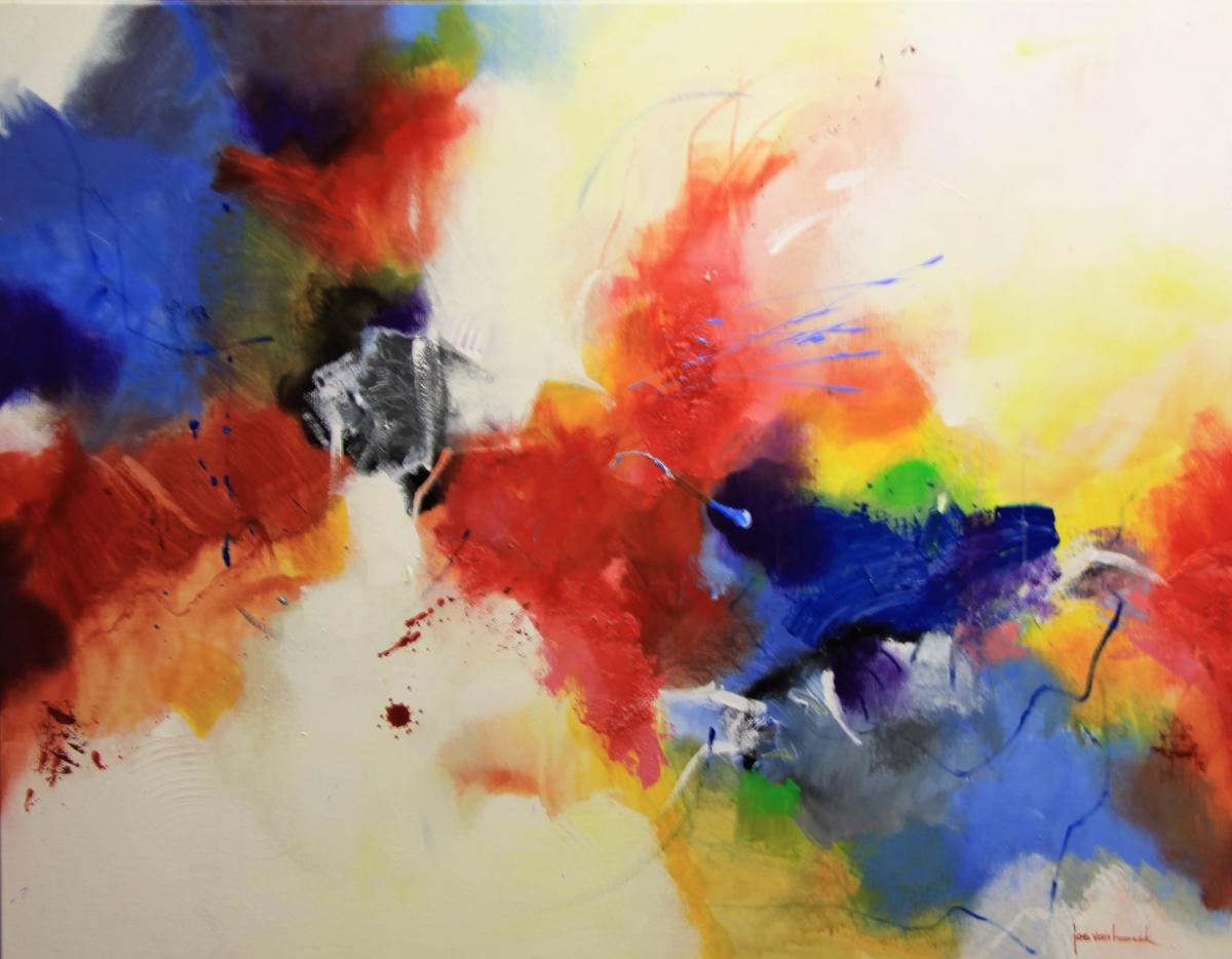 Kunst: 2012 Langzaam voortbewegen van kunstenaar Jos van Beek
