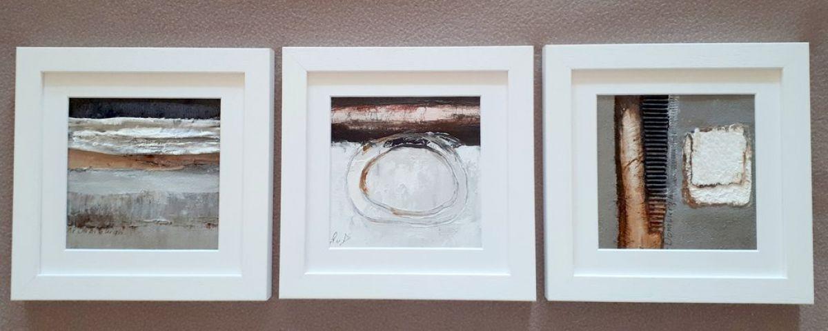 Kunst: 3 luik van kunstenaar Lydia van Domburgh