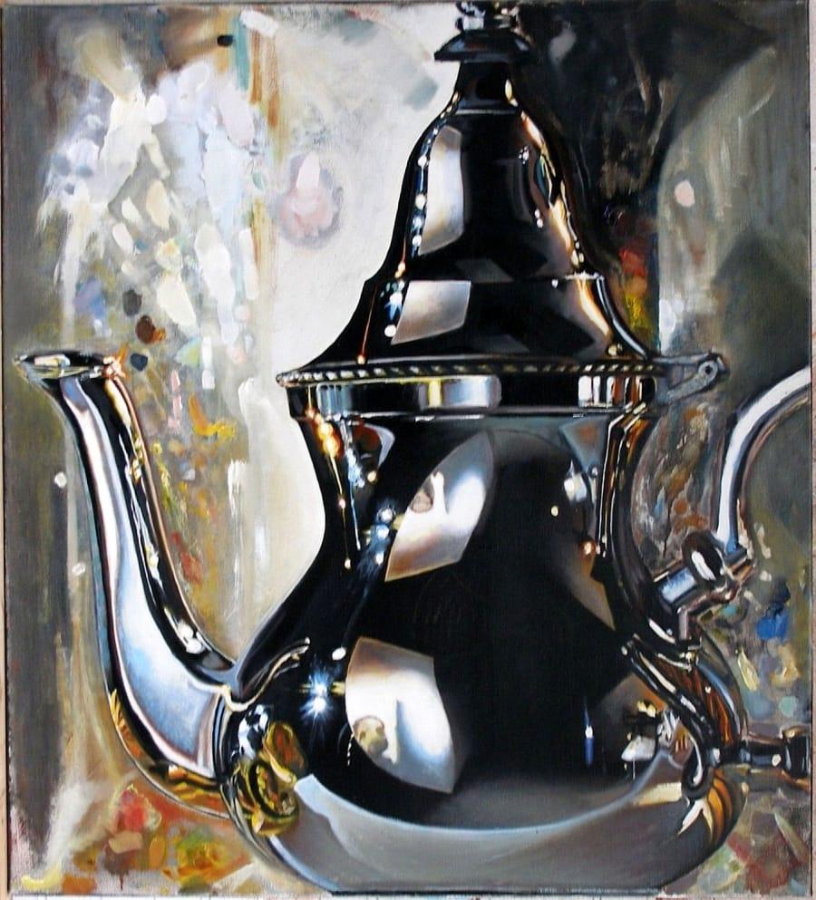Kunst: 8 o'clock news van kunstenaar Leo Wijnhoven