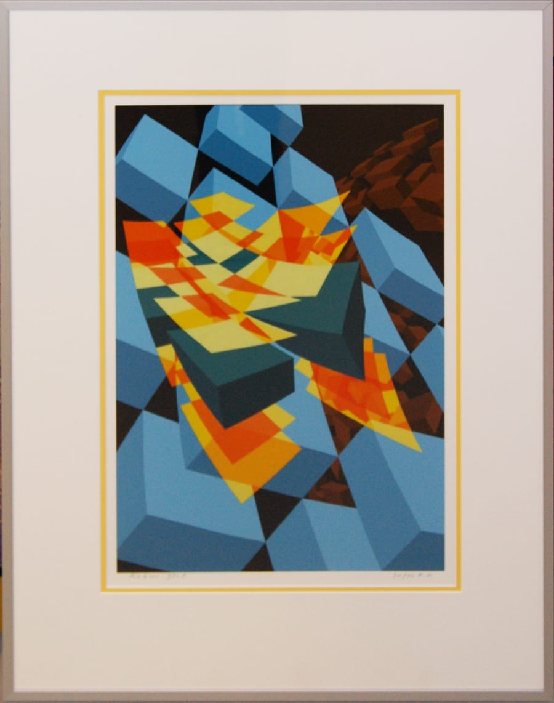 Kunst: 93-1 van kunstenaar  Hans Klaui