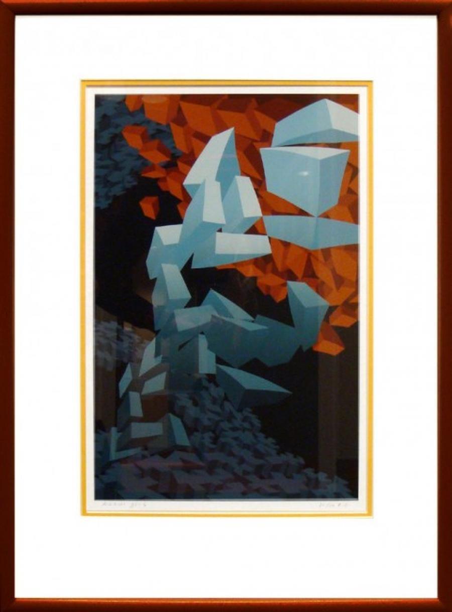 Kunst: 93-4 van kunstenaar  Hans Klaui