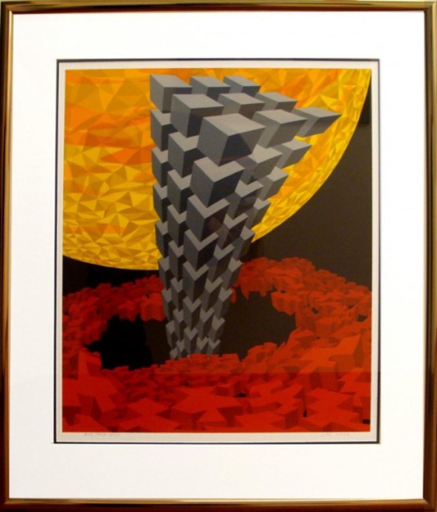 Kunst: 98-4 van kunstenaar  Hans Klaui