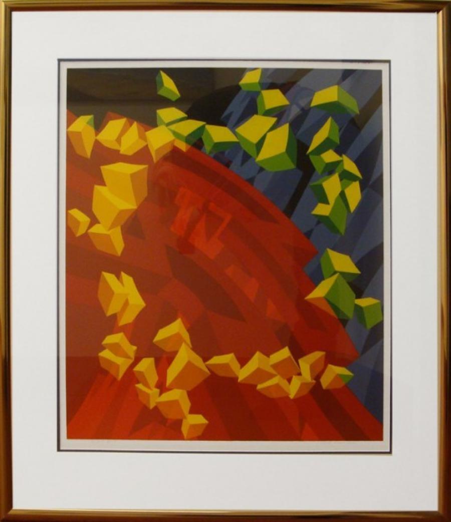 Kunst: 98-5 van kunstenaar  Hans Klaui