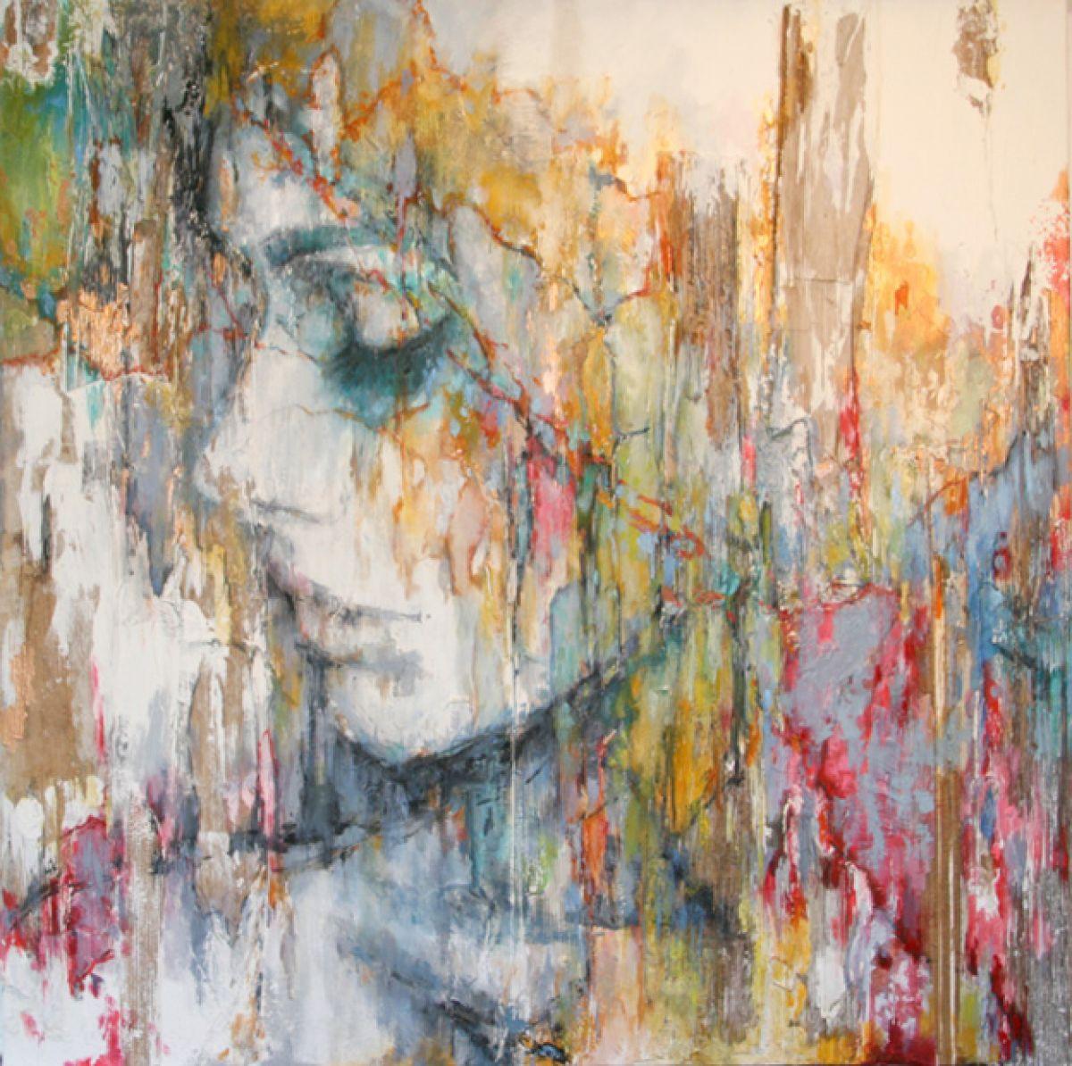 Kunst: A lady named Fay van kunstenaar Evelyn Hamilton