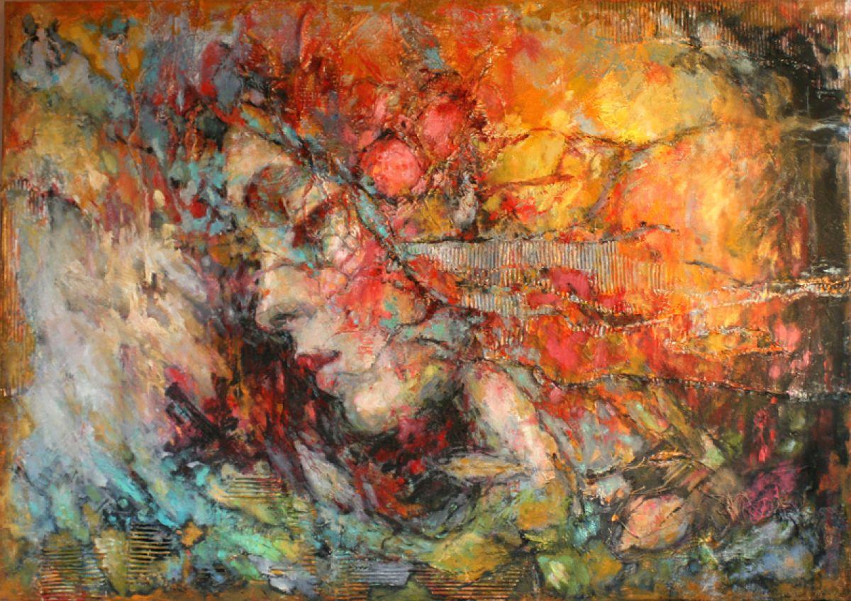 Kunst: A lovely dream van kunstenaar Evelyn Hamilton