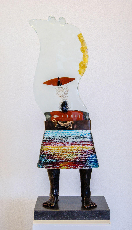 Kunst: A smiling day van kunstenaar Sjaak Smetsers