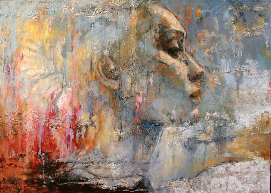 Kunst: About Lucy van kunstenaar Evelyn Hamilton