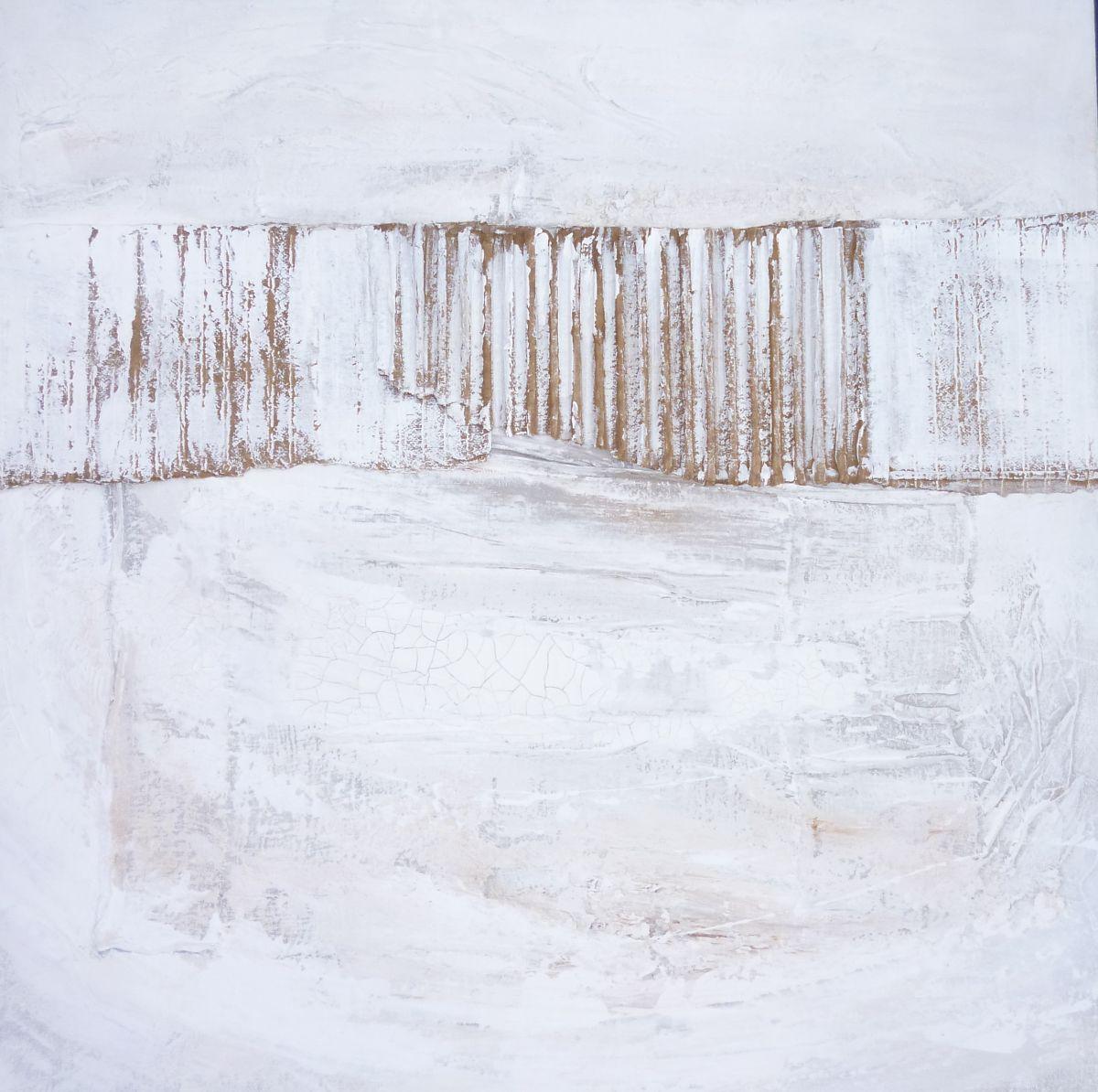 Kunst: Abstract-11 van kunstenaar Lydia van Domburgh