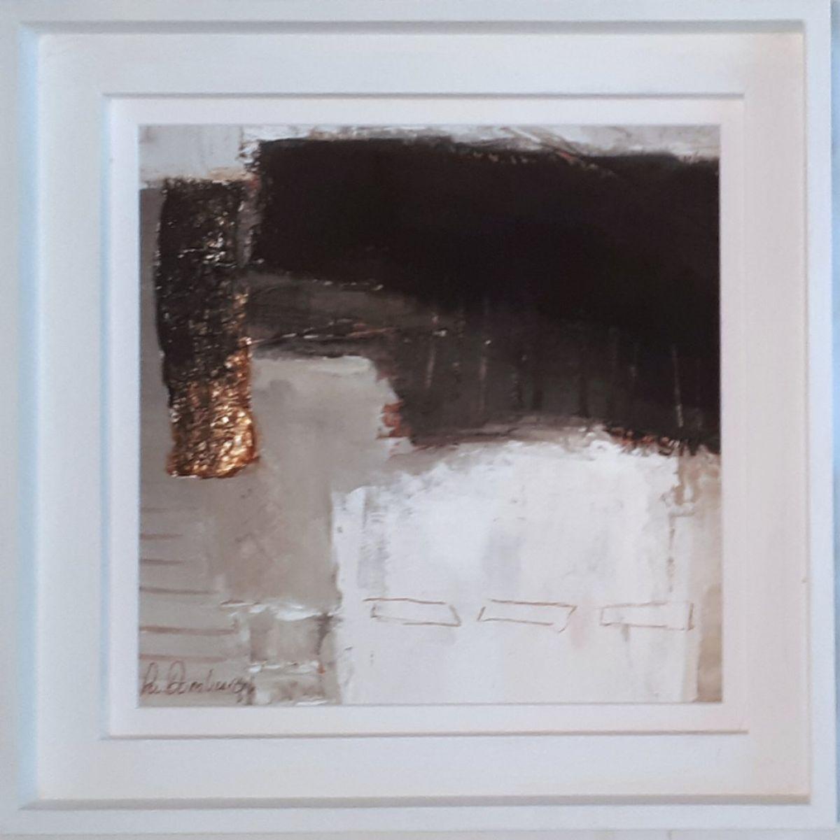Kunst: Abstract-12 van kunstenaar Lydia van Domburgh