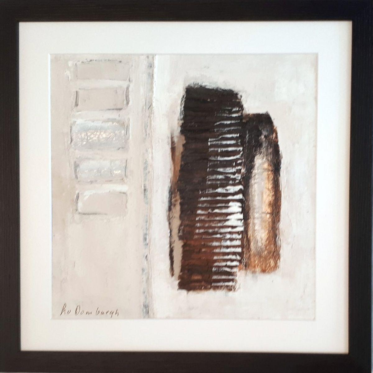 Kunst: Abstract-2 van kunstenaar Lydia van Domburgh