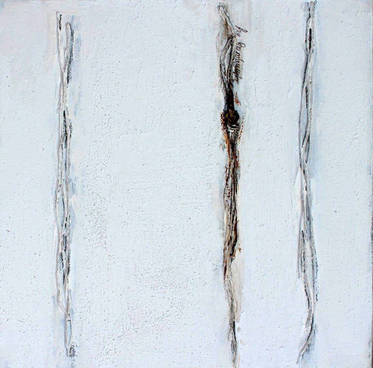 Kunst: Abstract 30-2 van kunstenaar Lydia van Domburgh