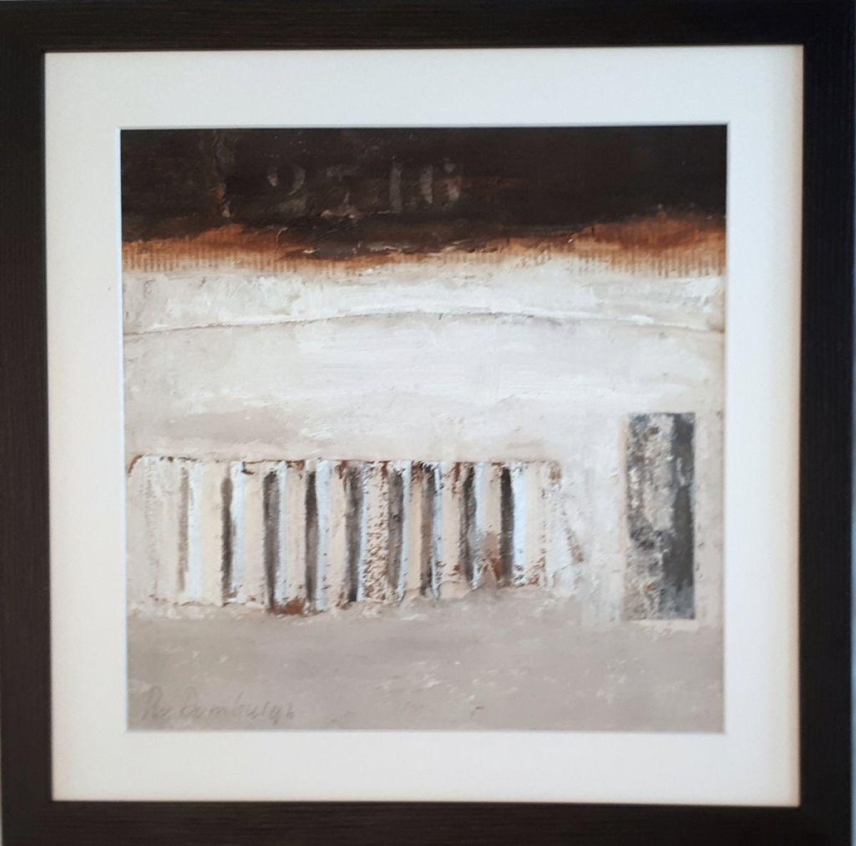 Kunst: Abstract-4 van kunstenaar Lydia van Domburgh