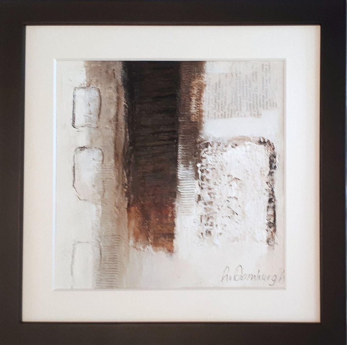 Kunst: Abstract-8 van kunstenaar Lydia van Domburgh