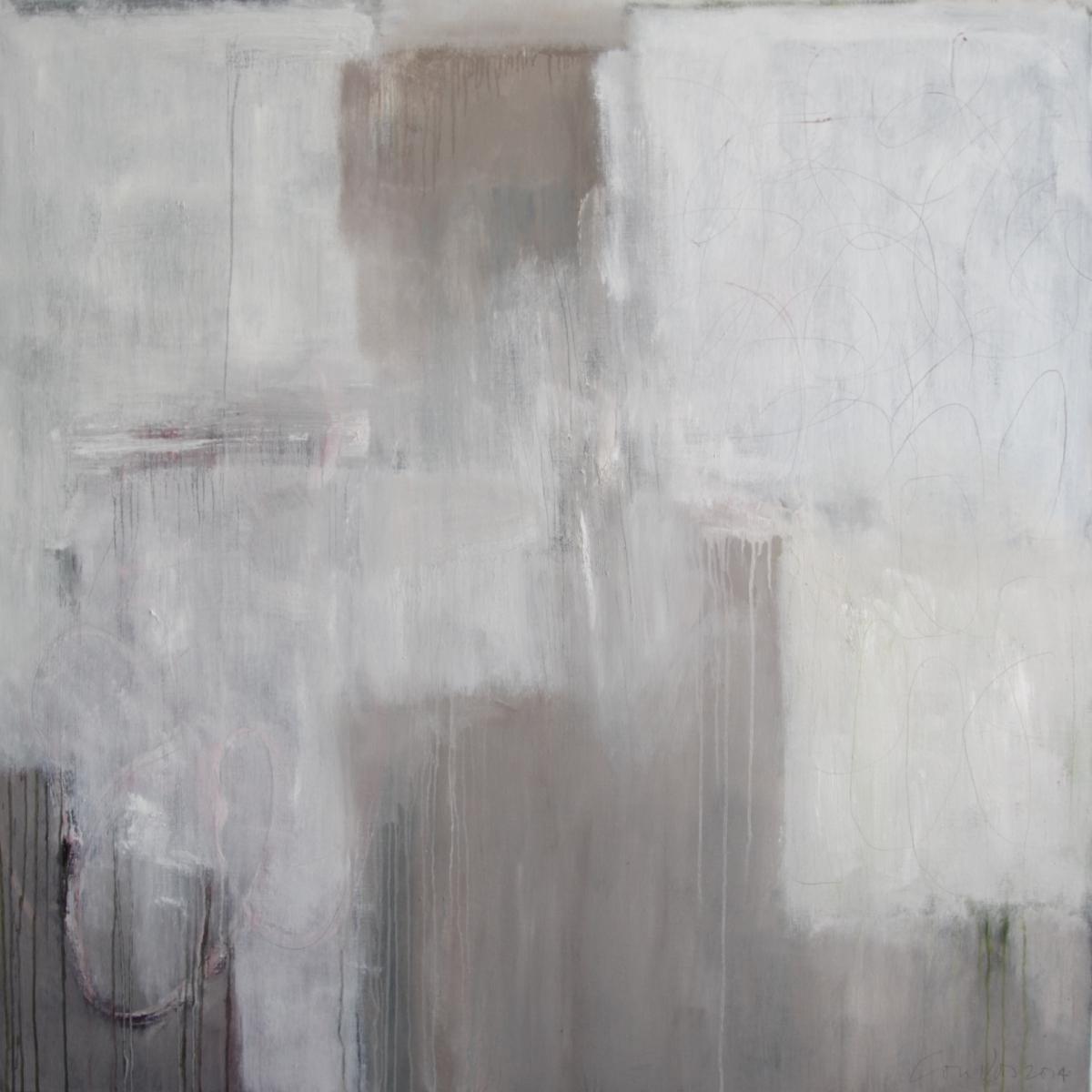 Kunst: Abstract II van kunstenaar Lou Vos