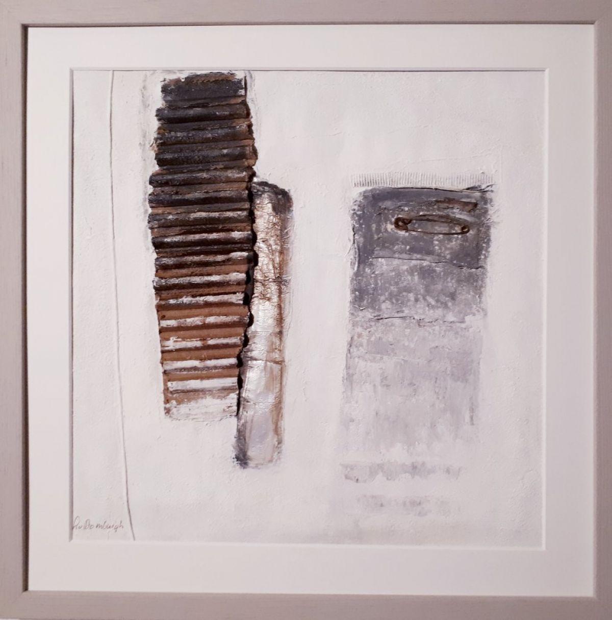 Kunst: Abstract (licht 01) van kunstenaar Lydia van Domburgh