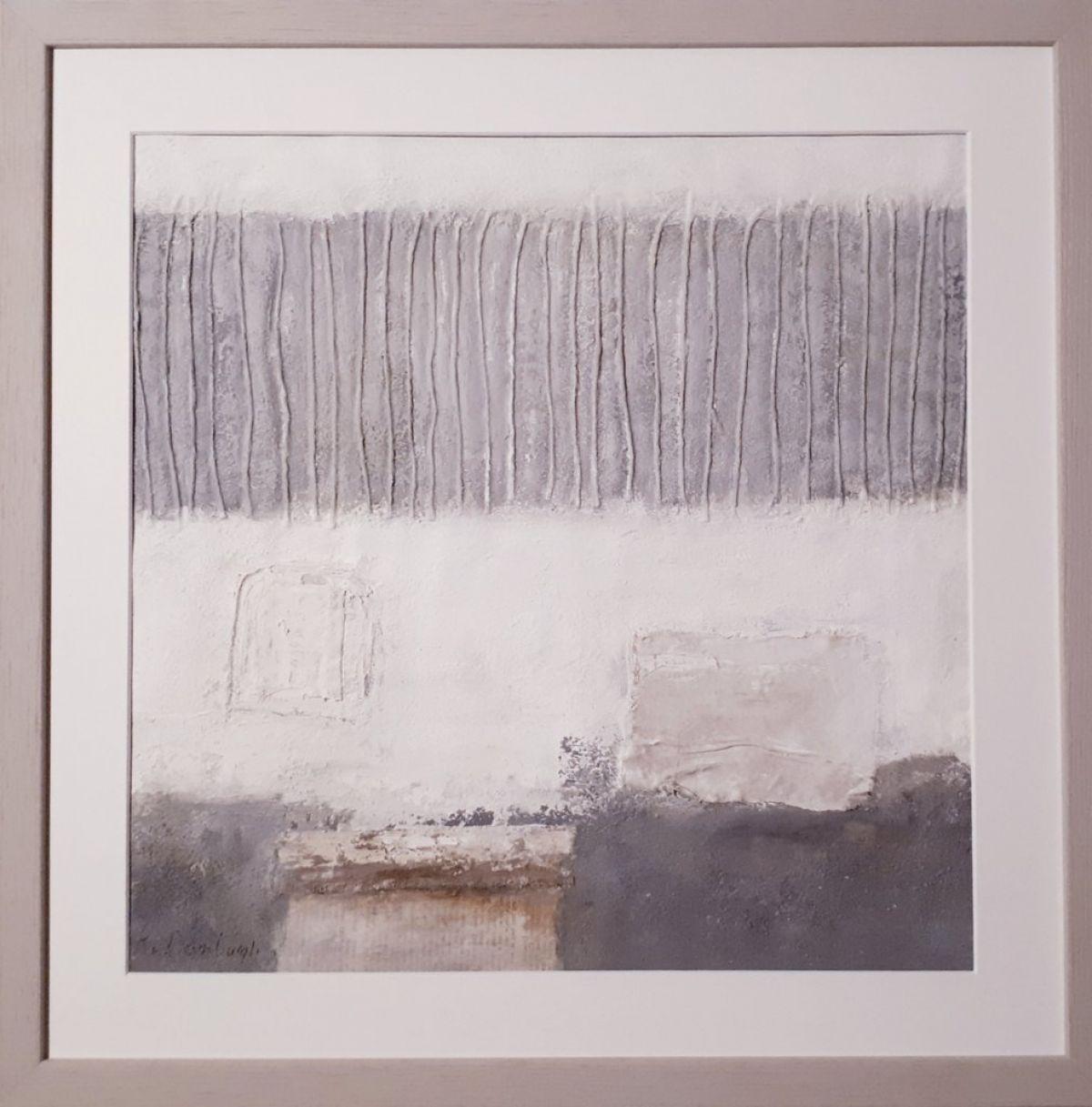 Kunst: Abstract (licht 02) van kunstenaar Lydia van Domburgh