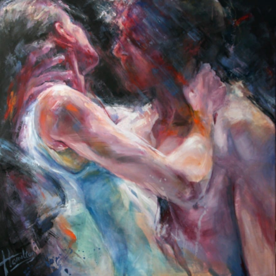 Kunst: Addict van kunstenaar Evelyn Hamilton