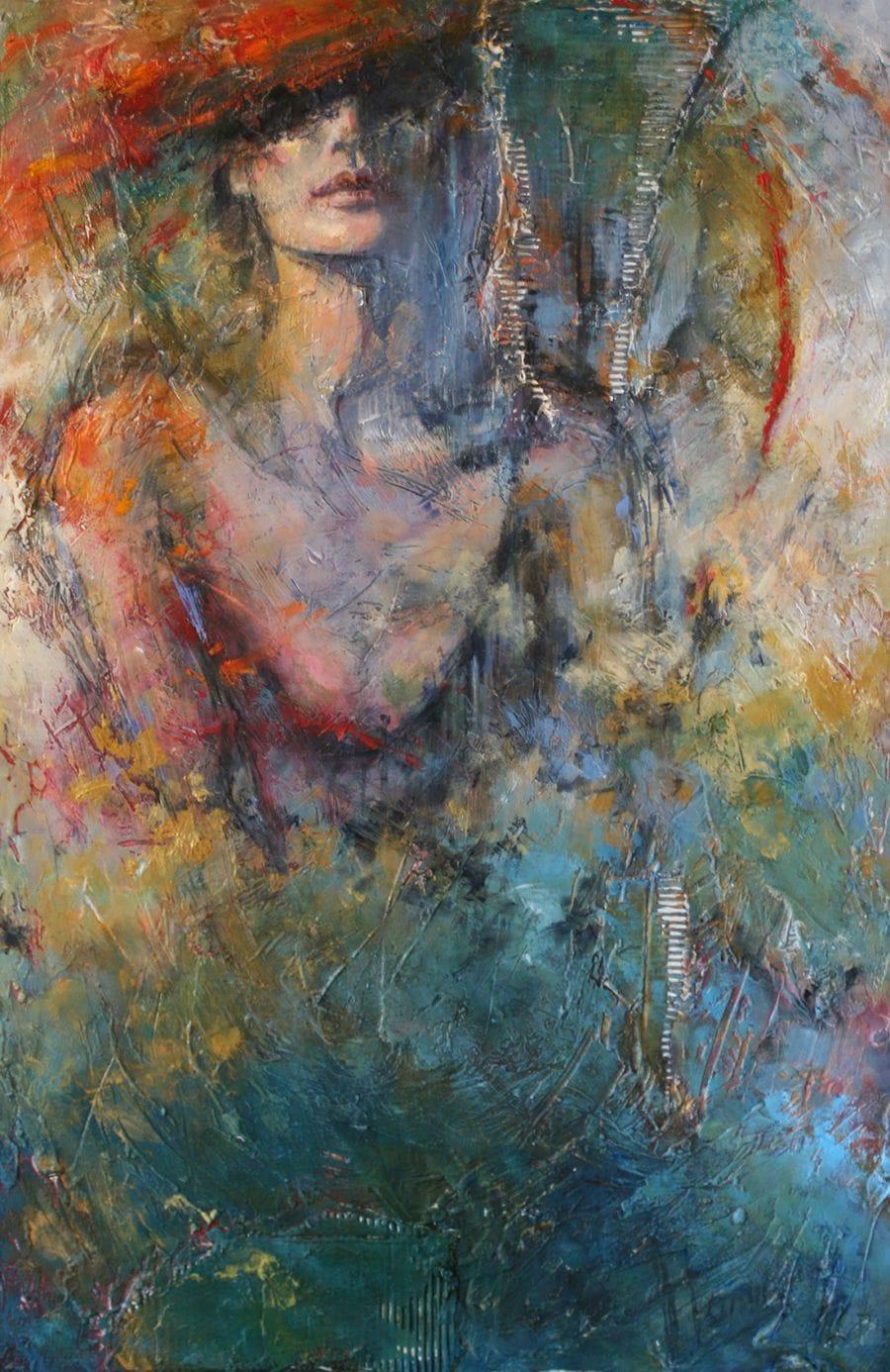 Kunst: Adore me van kunstenaar Evelyn Hamilton