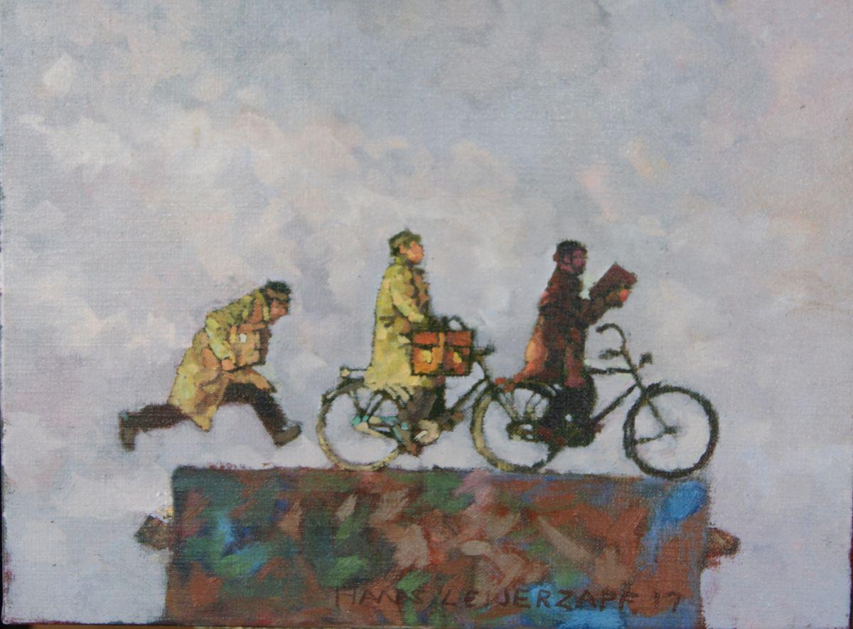 Kunst: Al vriest het nog zo hard van kunstenaar Hans Leijerzapf