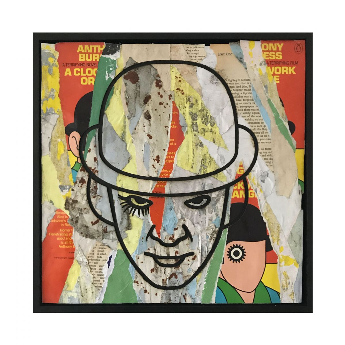 Kunst: Alex A Clockwork Orange Pelham versie van kunstenaar Perishable Rush