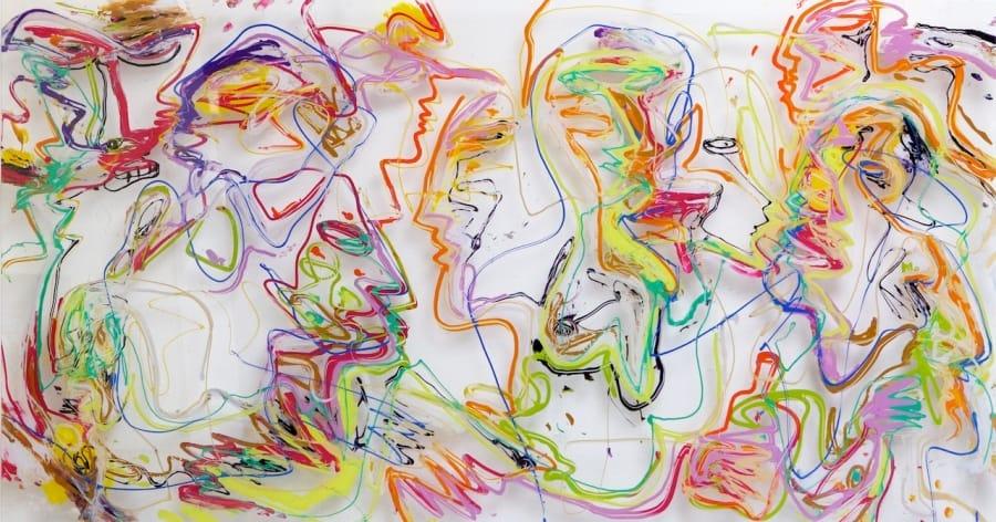 Kunst: All the girls are crazy van kunstenaar Jan van Lokhorst