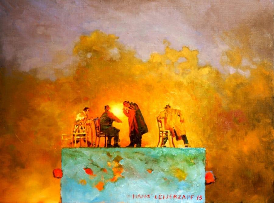 Kunst: Als het zo zou zijn geweest van kunstenaar Hans Leijerzapf