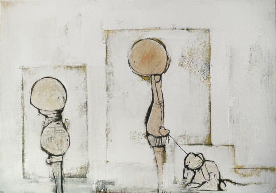 Kunst: Alweer? van kunstenaar David de Winter (Staaf)