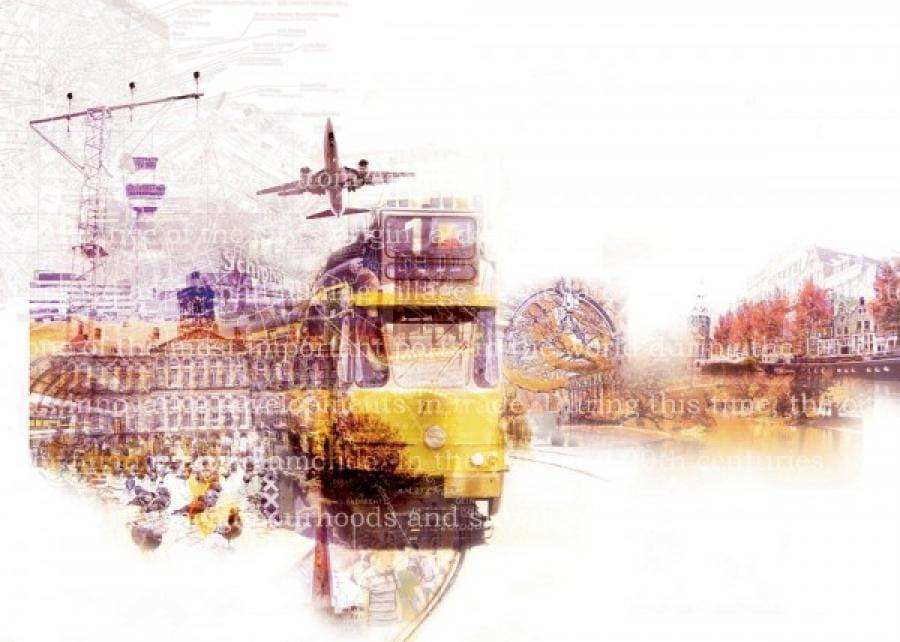 Kunst: Amsterdam van kunstenaar Kim Heesakkers
