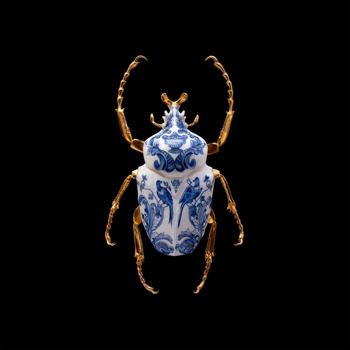 Kunst: Anatomia Blue Heritage Goliath II Print van kunstenaar Samuel Dejong