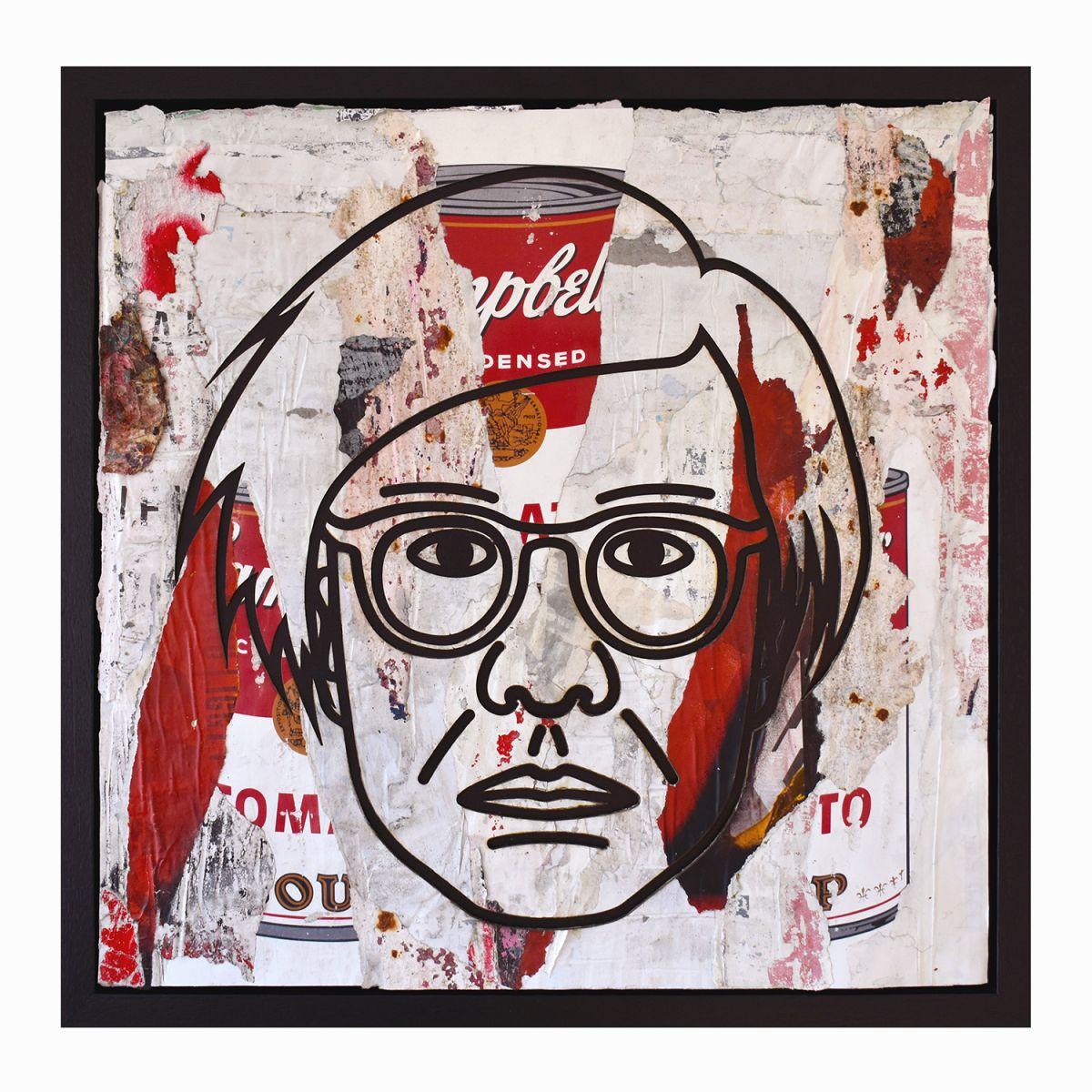 Kunst: Andy Warhol Campbell's Soup Red van kunstenaar Perishable Rush