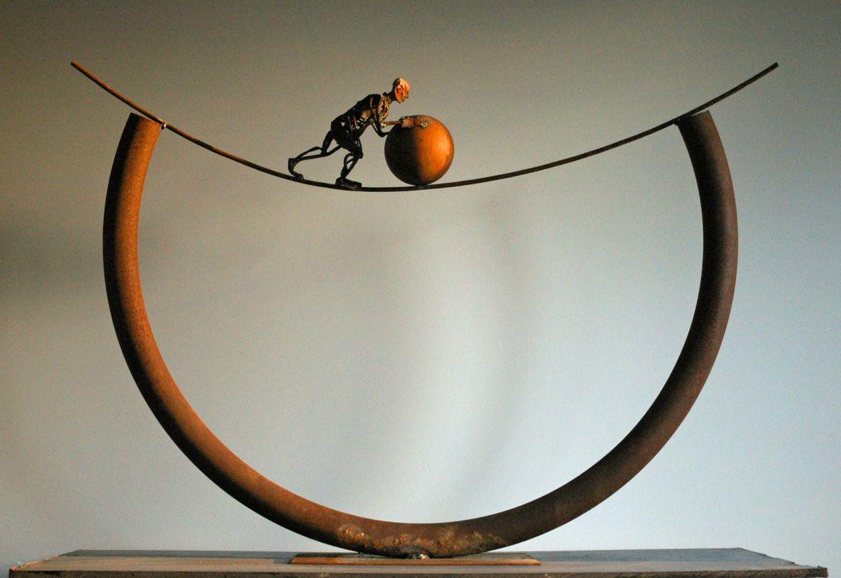 Kunst: Au claire de la lune van kunstenaar Jan Verschueren