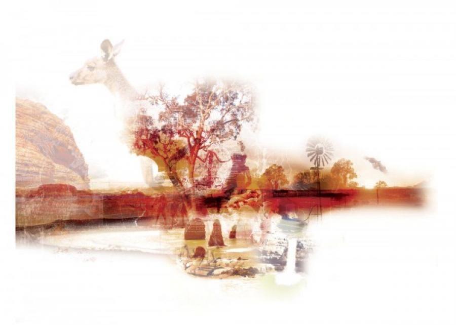 Kunst: Australia van kunstenaar Kim Heesakkers