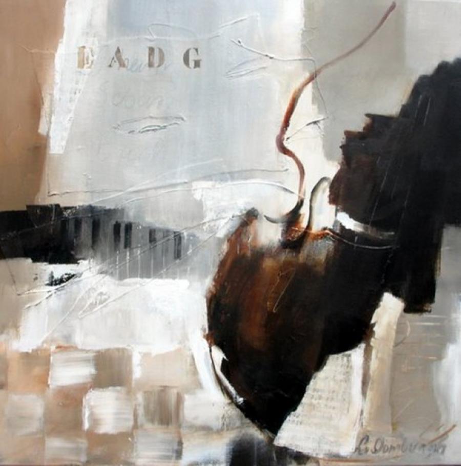 Kunst: Bach van kunstenaar Lydia van Domburgh