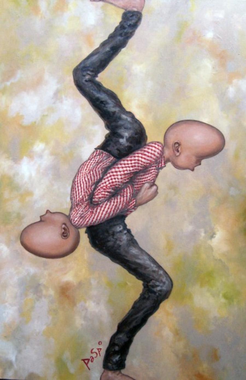 Kunst: Back-up van kunstenaar Paddy Spoelder